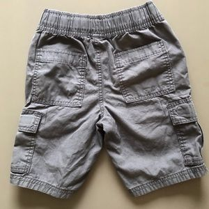 CHILDREN'S PLACE Grey Pull-On Cargo Shorts- Size 6